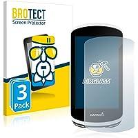 BROTECT Glas Screenprotector compatibel met Garmin Edge 1030 (3 Stuks) - Beschermglas met 9H hardheid