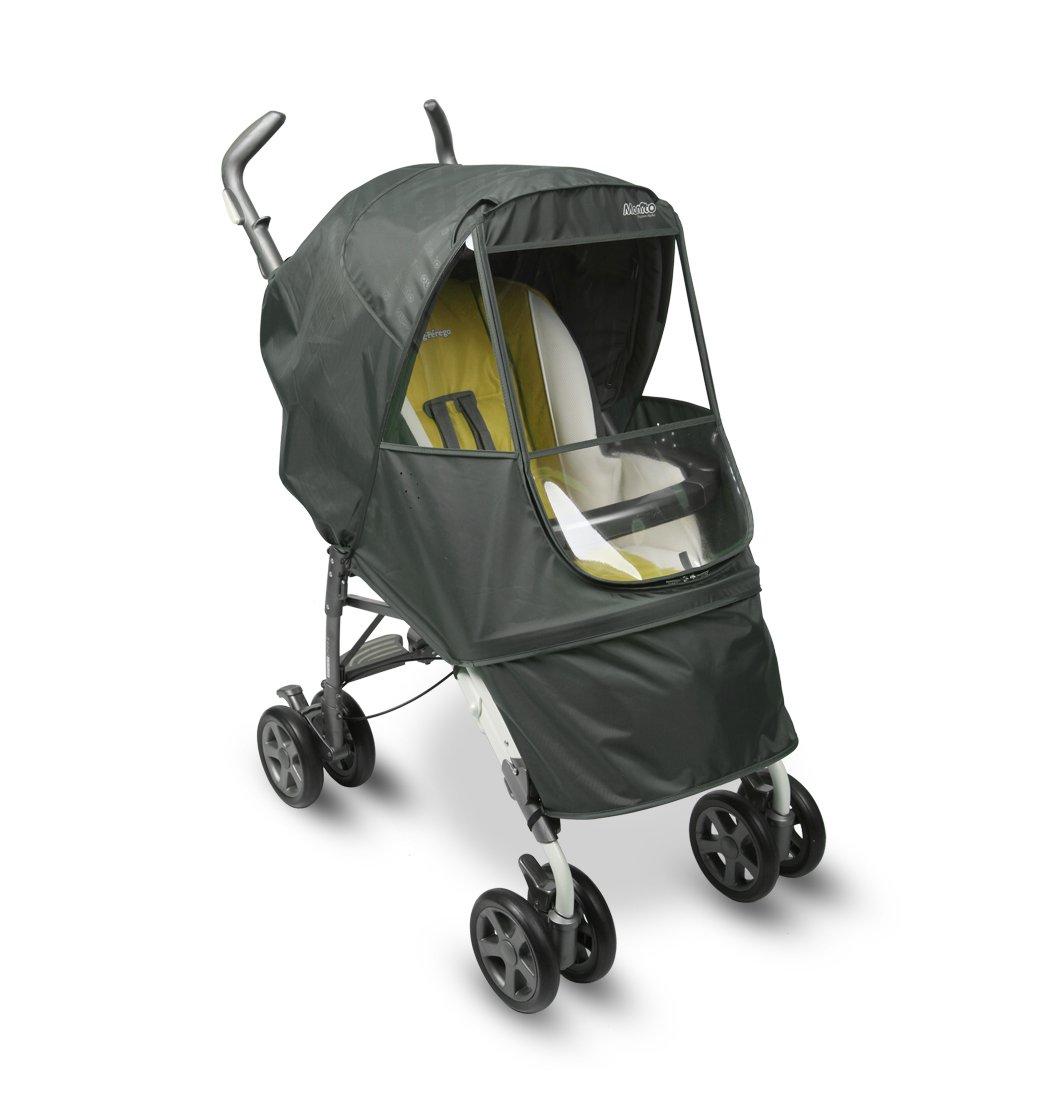 Manito Elegance Alpha Stroller Weather Shield/Rain Cover (Grey)