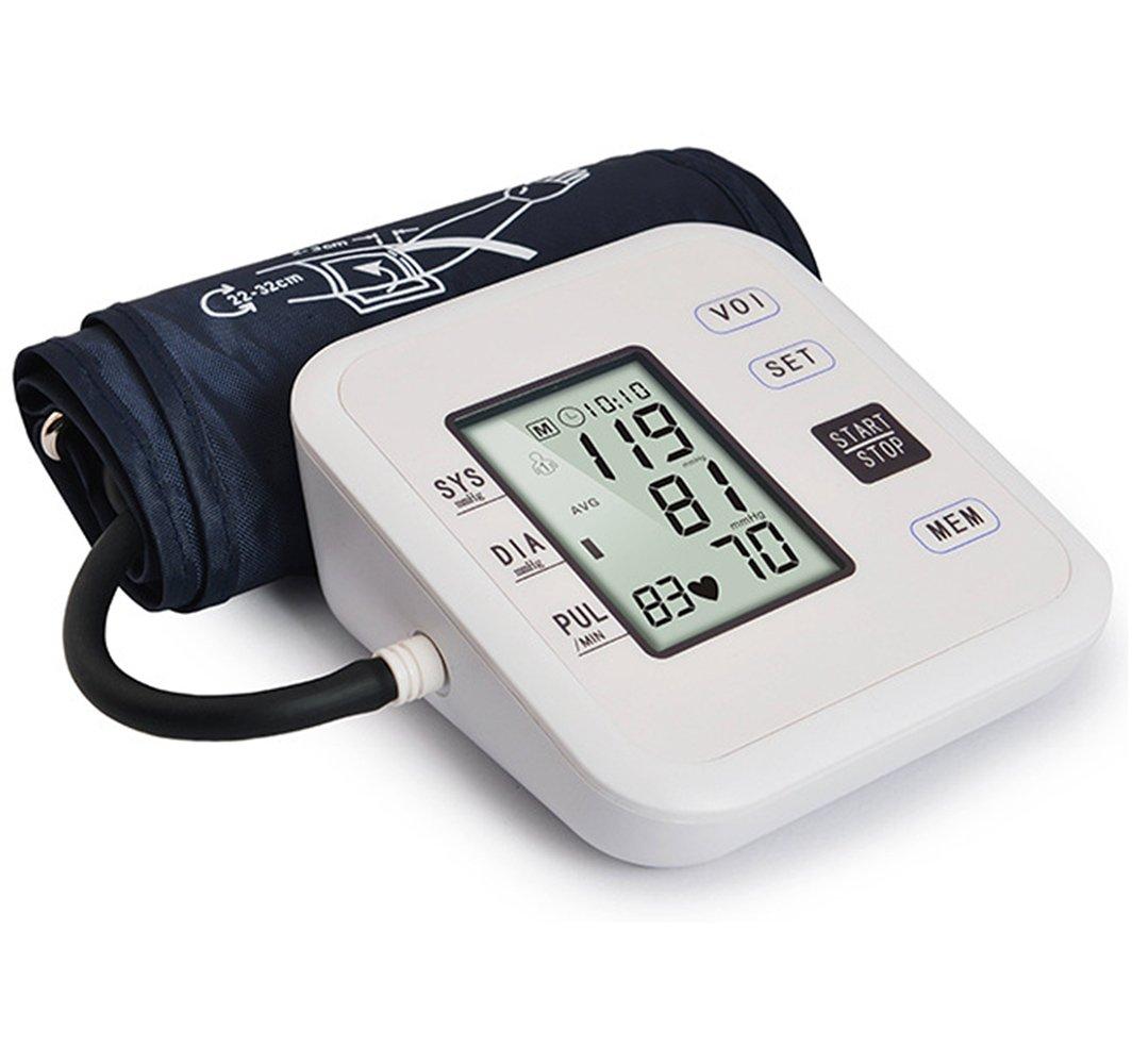 - Tensiómetro digital automático electrónico brazo presión arterial y pulso Medidor de Ritmo de detector pilas o USB alimentación Who con arrhythmie de ...