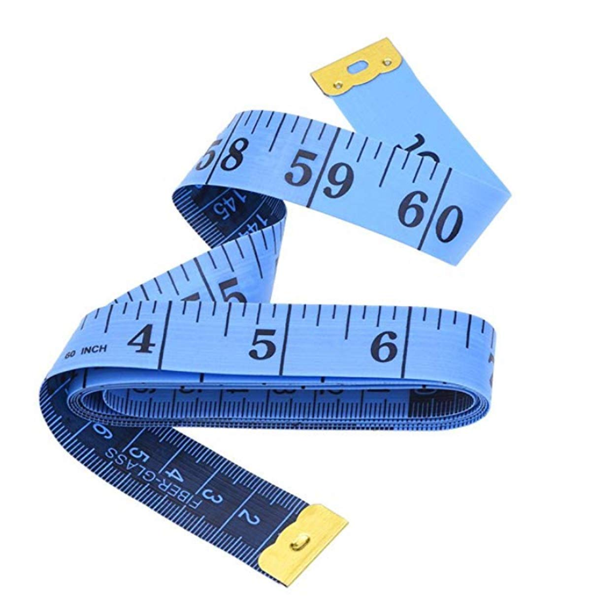 Soft Tape Measure for Sewing Double-Sided Tailor Cloth Ruler Blue STARFLAG