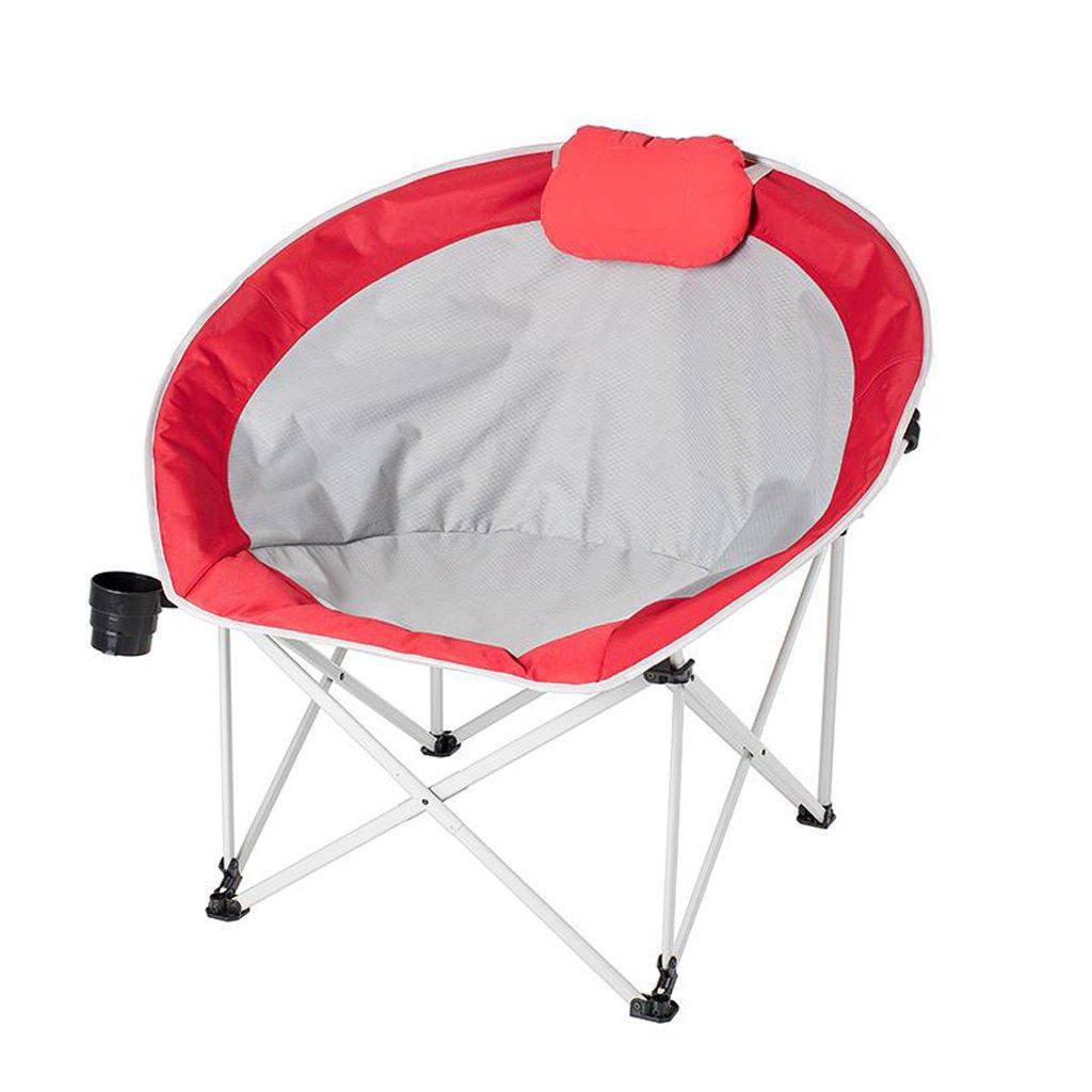 品多く 椅子 椅子 折り畳み椅子屋外ビーチレジャー釣り背もたれアダルトキャンプバーベキューチェア(94* 89cm) 86* 89cm) (色* : 赤) 赤 B07DL8FY82, アキルノシ:b9b8f698 --- cliente.opweb0005.servidorwebfacil.com
