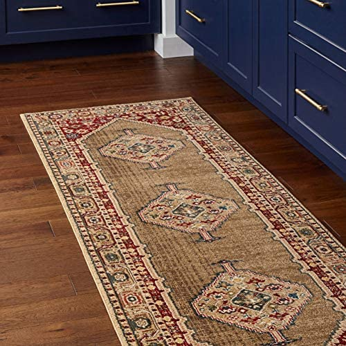 Amazon Brand Stone Beam Traditional Regal Adornment Rug