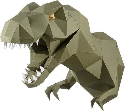 make easy paper crafts: origami Skull 3D | 464x522