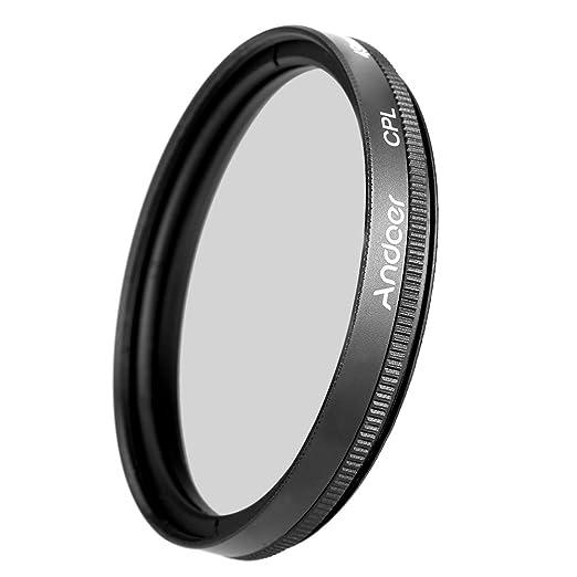 40 opinioni per Andoer Filtro CPL polarizzatore lente 49mm Digital Slim circolare polarizzatore