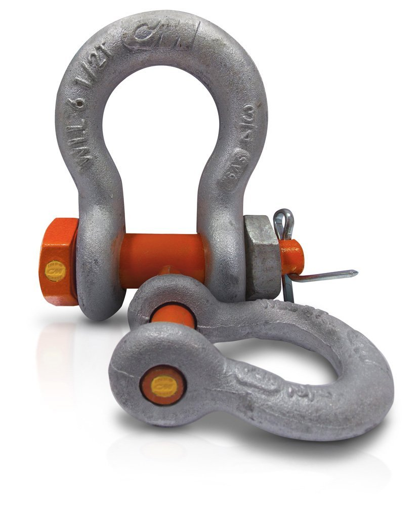 CM Shackle Anchor Screw Pin 1 3/8 Alloy Painted 21Ton (M666Ap)