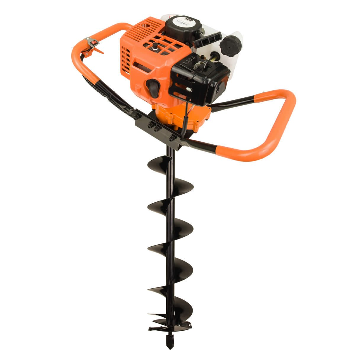 82cc Post Hole Digger Auger Petrol Drill Bit Fence Earth Borer 100 150 200 ultrasharp blades by Horti Power (Image #2)