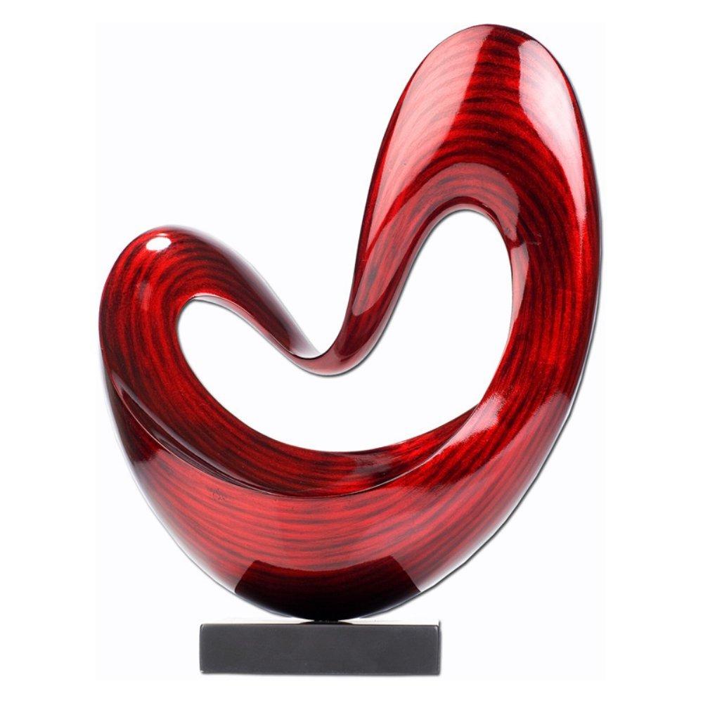 Hebi Arts 16.5 in. Floating Heart