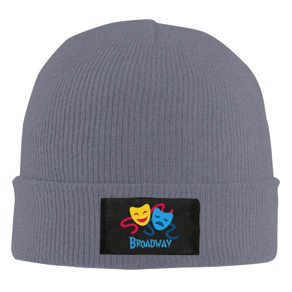 ASKYE Sadness and Joy, Broadway Knit Winter Beanie Hat Skull Cap ...