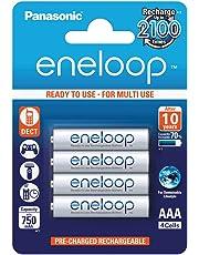 Panasonic Eneloop Rechargeable AAA Batteries 4 Pack