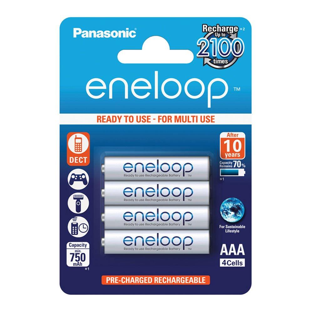 Panasonic Eneloop SY3052685 - Pack 4 Pilas Recargables, AAA