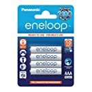 Panasonic Eneloop Rechargeable AAA Batteries 4 Pack
