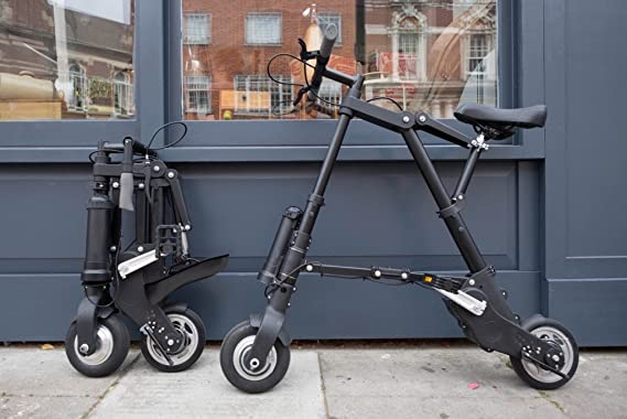 Amazon.com : Innovative Edge Design Foldable Electric A-Bike : Sports & Outdoors