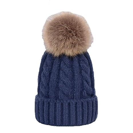 DSNIUSD Signore Cappelli Autunno E Inverno Semplice Alta qualità Maglia  Capelli Caldi Palla Canapa Modello Pullover e4f1b0af0377