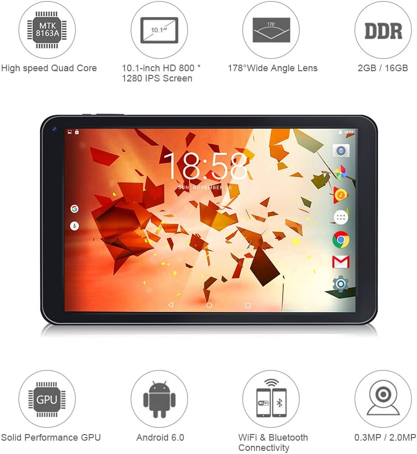 topelotex tablet pc google wifi android os quad core