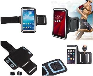 DFV mobile® - Armband Professional Cover Neoprene Waterproof Wraparound Sport with Buckle for = KOLINA K100+ V6  Black DF-iFbREF-PLS-N-A8-108