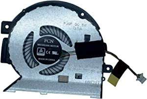 Rangale Replacement CPU Cooling Fan for HP Envy 15-BP 15M-BP 15-BP010CA 15M-BP012DX 15-BP152WM 15M-BP112DX 15-BP011DX 15M-BP111DX Series Laptop 924348-001 924349-001