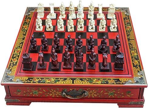 Caja de Regalo Juego de ajedrez 1 Set ejército de Terracota ...
