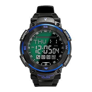 Youngs PS1503 - Reloj inteligente con Bluetooth 4.0, estilo deportivo, sumergible hasta 100 m, funciona con Android o iOS: Amazon.es: Electrónica