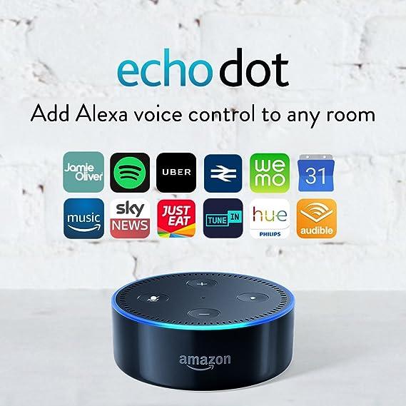 Amazon Echo Dot (2nd Gen) – Smart Speaker with Alexa – Black-Best-Popular-Product