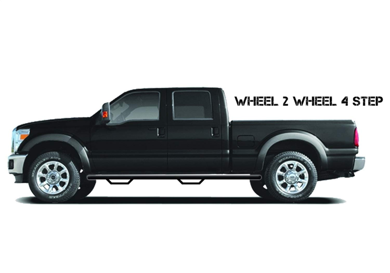 N-FAB T0365R-GB Gloss Black Nerf Step; Wheel 2 Wheel Toyota 4 Runner SUV 4 Door 03-09