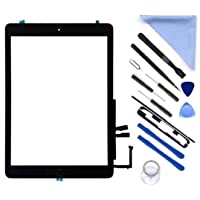 "New Touch Screen Digitizer Repair Kit for iPad 9.7"" 2018 iPad 6 6th Gen A1893 A1954 Touch Screen Digitizer with Home…"