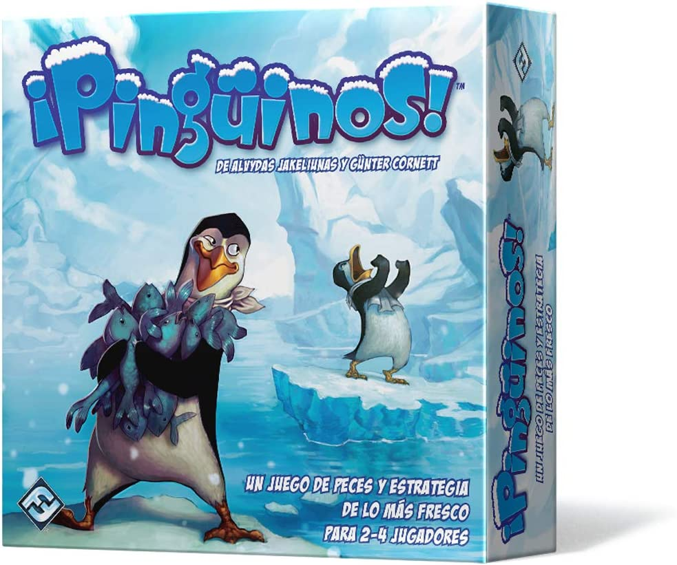 Fantasy Flight Games-¡Pinguinos, Multicolor (Edge Toys FFTY05 ...