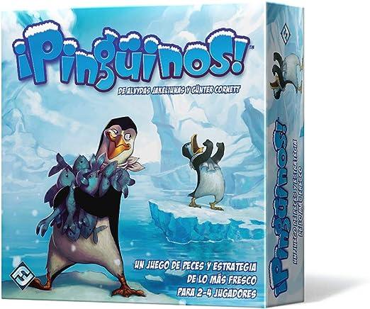 Fantasy Flight Games-¡Pinguinos, Multicolor (Edge Toys FFTY05): Amazon.es: Juguetes y juegos