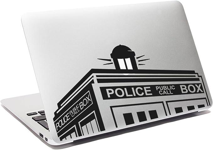 Doctor Who Aufkleber Tardis Aufkleber Police Box Computer Zubehör