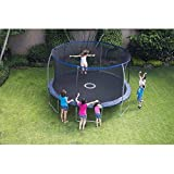 Bounce Pro 14Ft Trampoline With Enclosure Safety Net for Kids and Toodlers Heavy-Duty Galvanized Steel. Mini Bouncepro Jumpzone Jumpking UV Resistant Review