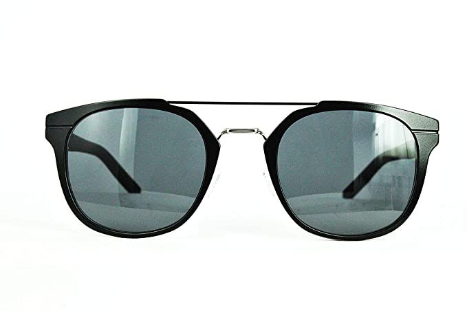 93aabc310b7c Amazon.com  Dior Homme AL13.5 KI2 Black AL13.5 Round Sunglasses Lens  Category 3 Size 52mm  Clothing