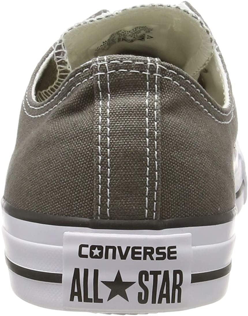 Converse Chuck Taylor All Star Canvas Low Top Sneaker Charcoal