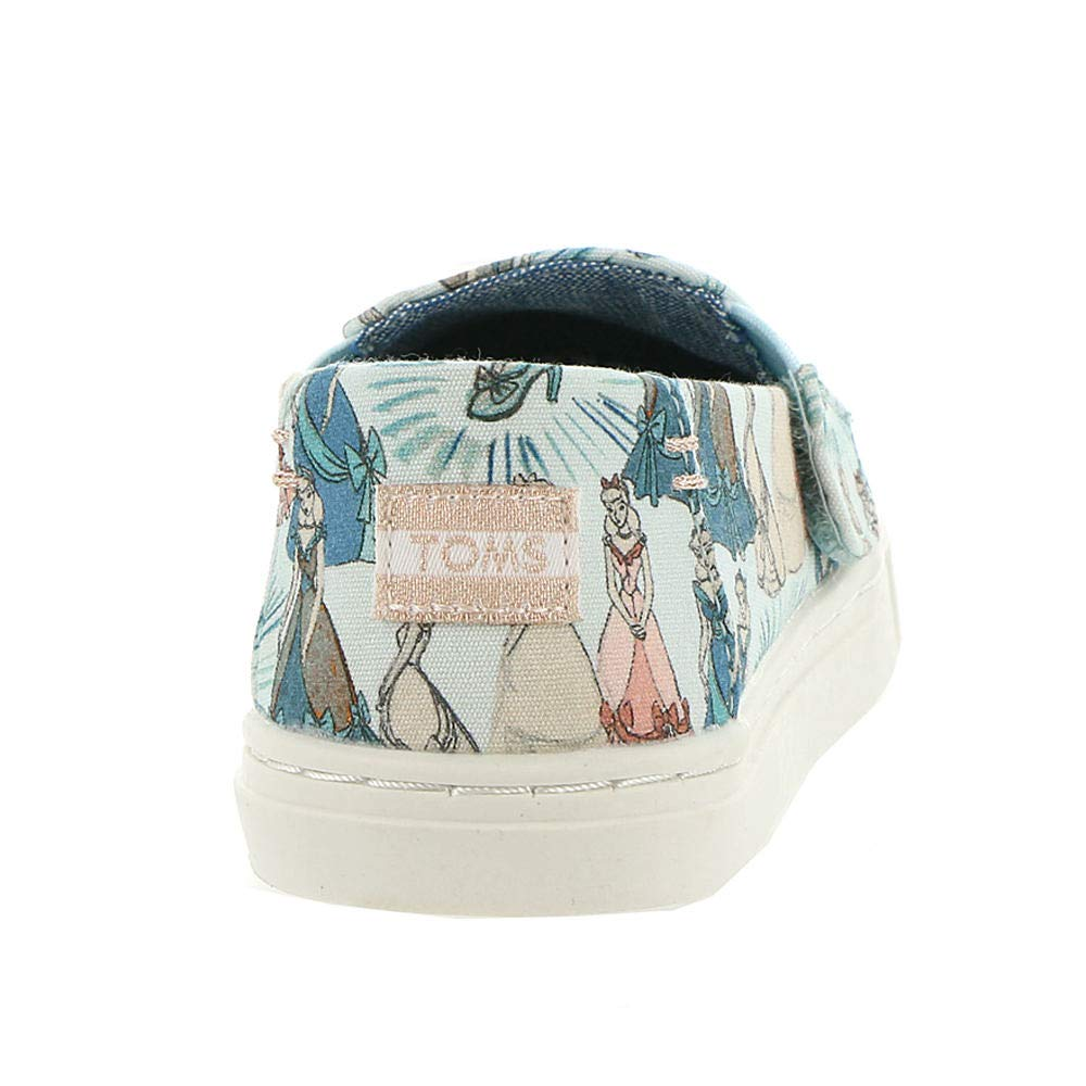 TOMS Girl's, Luca Slip on Shoes Disney Cinderella 5 M by TOMS Kids (Image #6)