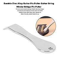 Durable Zinc Alloy Guitar Pin Puller Guitar String Winder Bridge Pin Puller