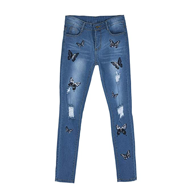 Amazon.com: Jinjin Fashion Women Pants - Skinny Jeans Denim ...