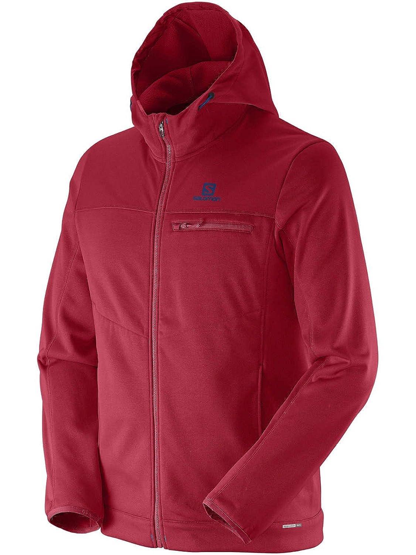 Sweater Hooded Zip Men Salomon Cruz 2 Zip Hoodie