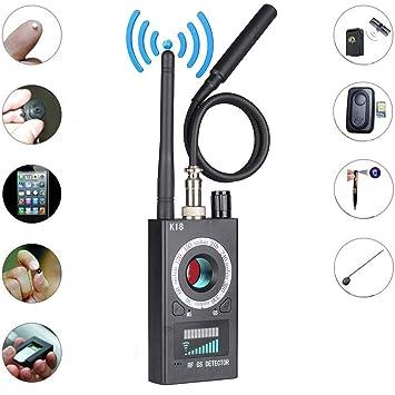 Detector de Cámara Anti-Espía, Detector de señales RF, Detector de Señales Inalámbricas Lente láser Detector gsm Sensibilidad Ultra Alta Buscador de ...