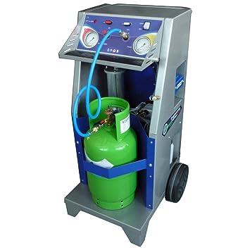 Recuperador refrigerante R134 a R1234yf carrellato con separador Aceite