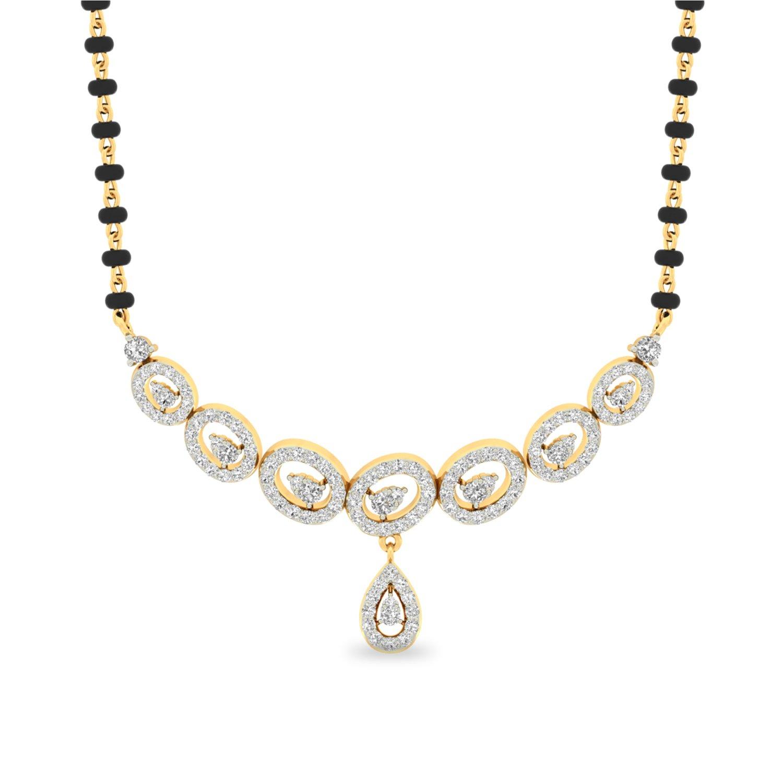 New Mangalsutra Diamond Pendant Designs   Jewellry\'s Website