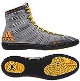 Adidas adiZero Varner High Top Wrestling Shoes - 10.5 - Gray/Black/Solar Gold