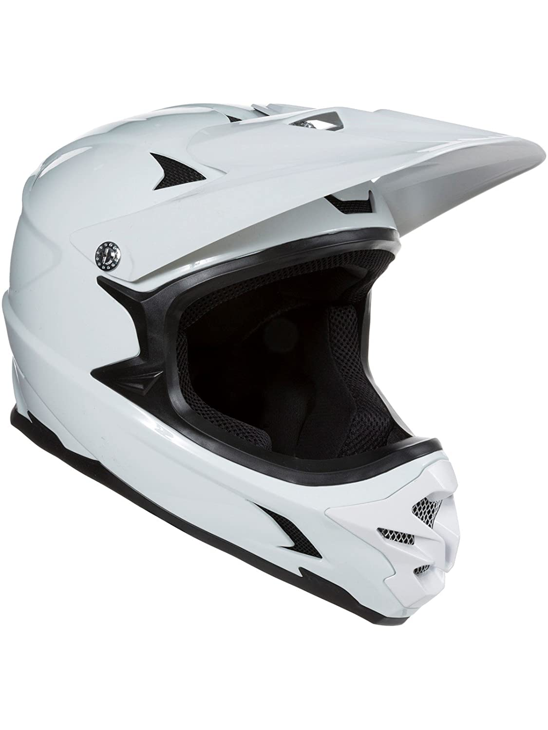Lazer weiß Phoenix Plus MTB Full Face Helm