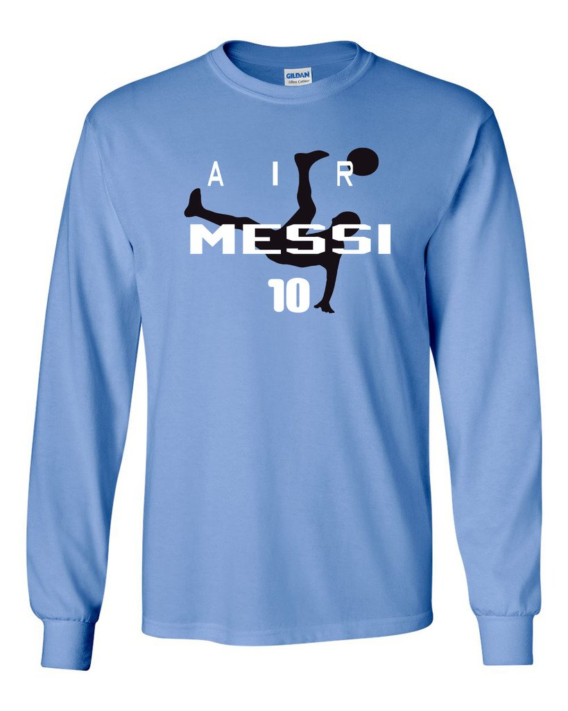 Long Sleeve Lionel Messi Argentina Air MessiT Shirt