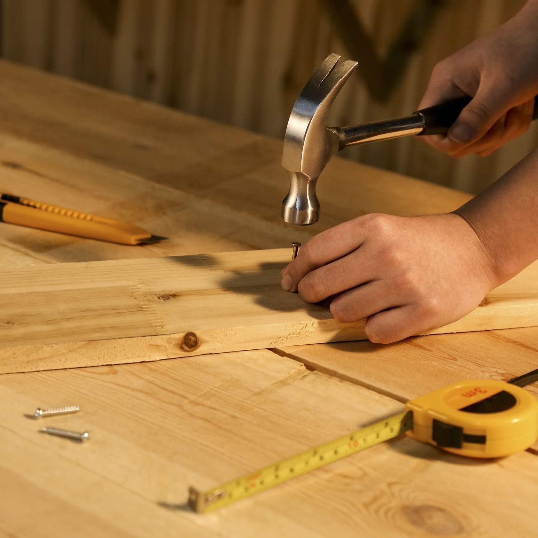 Juego de herramientas manuales de 62 piezas para herramientas dom/ésticas con funda