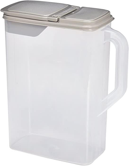 Buddeez 00506G 8 quart Gray Pet Food Dispenser/Lid