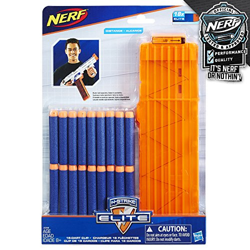 Official Nerf N-Strike Elite Series 18-Dart Quick Reload Clip JungleDealsBlog.com