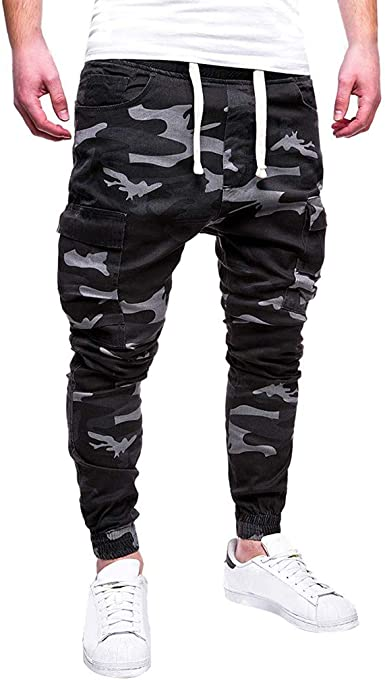Pantalones Hombre Chandal Militar Moda Pantalones Deportivos para ...