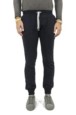SWEET PANTS Slim-Pantalón de chándal Azul Azul Talla:S: Amazon.es ...