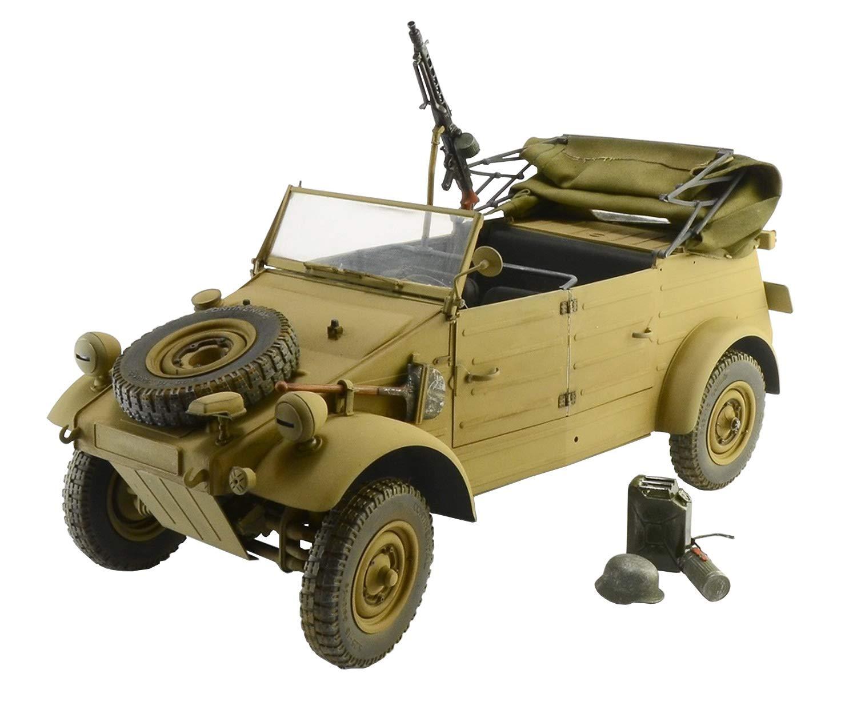 ITALERI 7405S - 1 9 KDF. 1 Typ 82 Kübelwagen , Modellbau, Bausatz, Standmodellbau, Basteln, Hobby, Kleben, Plastikbausatz, detailgetreu