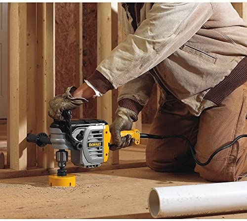 New Lower Prices DEWALT Electric Drill, Stud & Joist with Clutch, 1/2-Inch, Variable Speed Reversible (DWD450)  SX5muxo