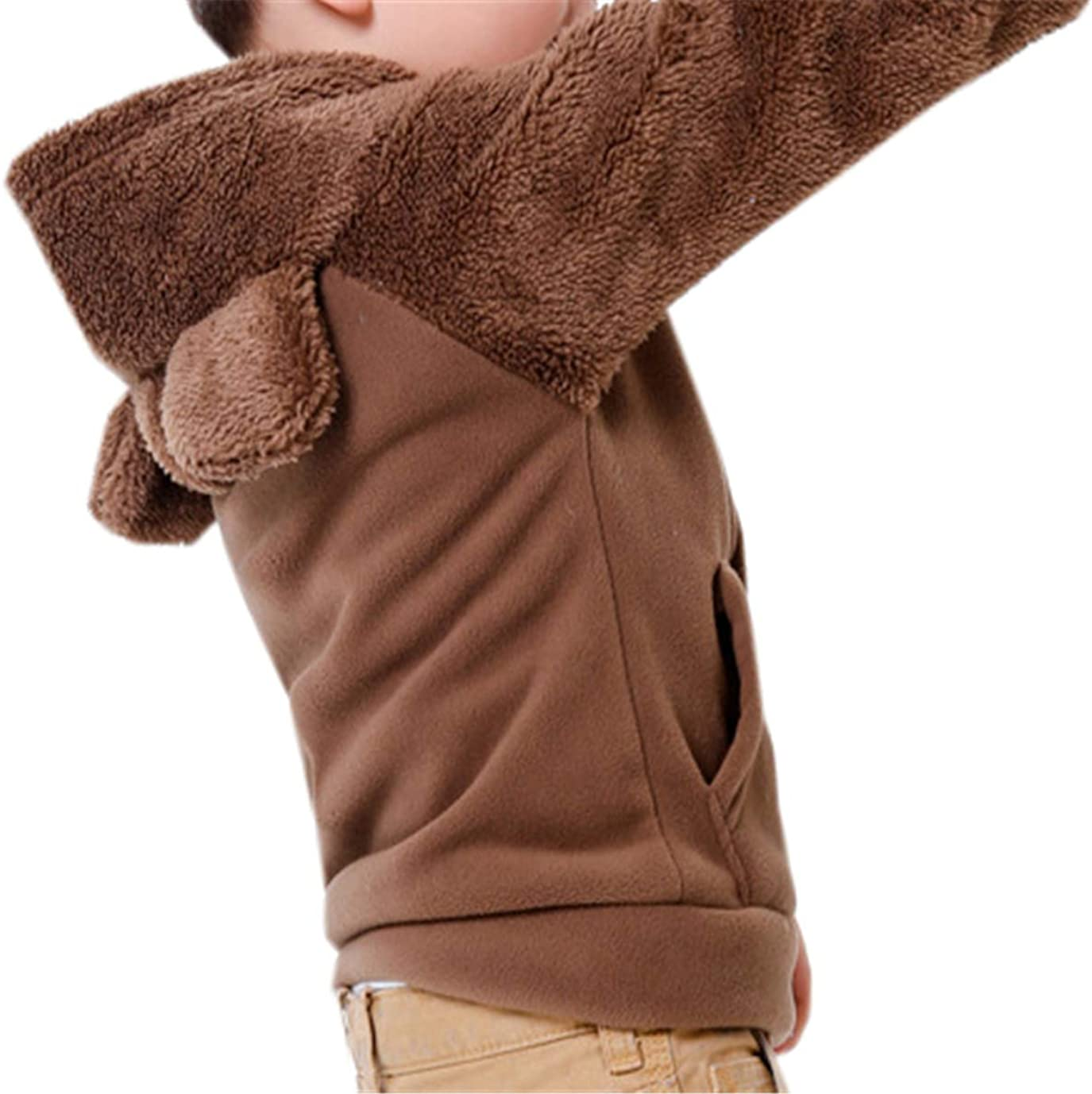 Betusline Kids Hooded Fleece Jacket