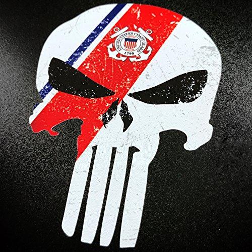 Punisher US Coast Guard- Sticker